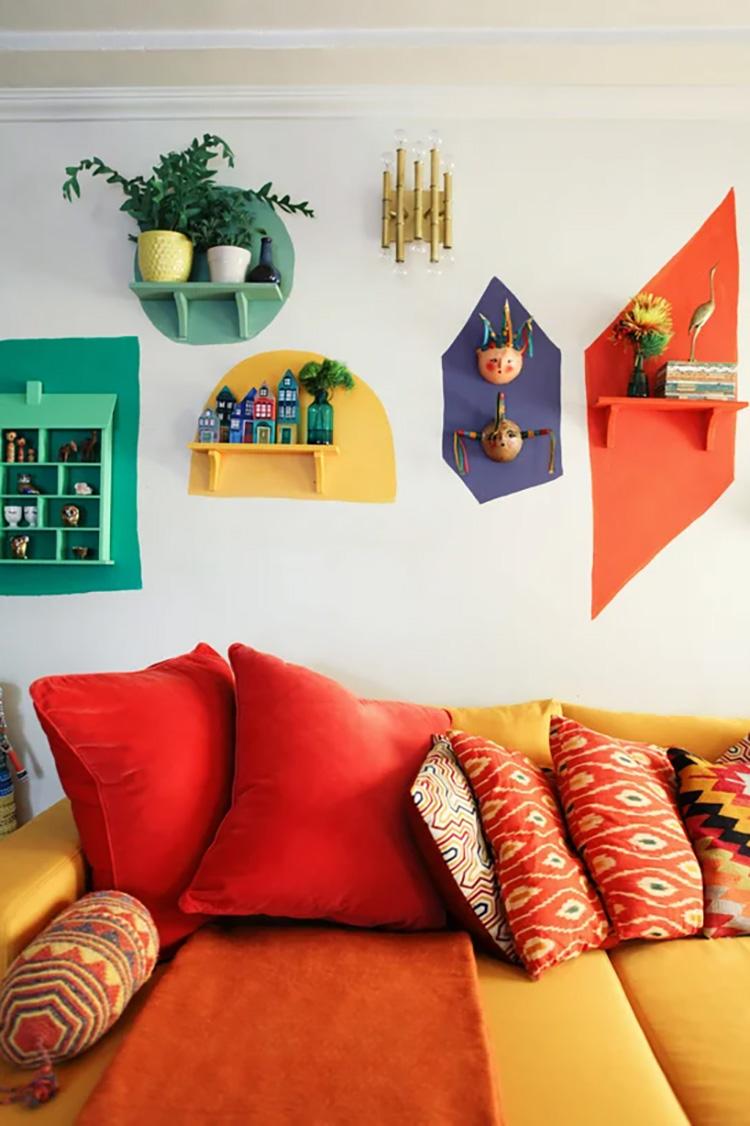 Thế Giới Đèn Gỗ -Top 10 ý tưởng trang trí tường cực đẹp cho căn nhà 8