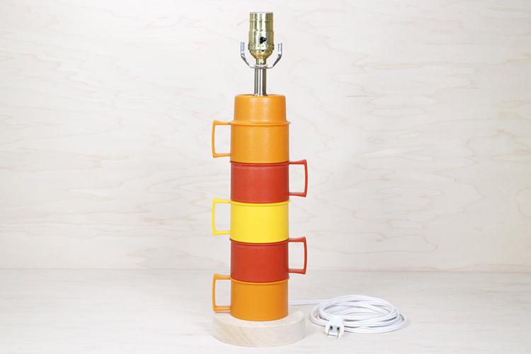 Thế Giới Đèn Gỗ - Hướng dẫn tự làm đèn bàn từ những chiếc ly nhựa cực đẹp 42