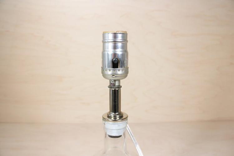 Thế Giới Đèn Gỗ - Hướng dẫn làm đèn trang trí bằng chai thủy tinh 34