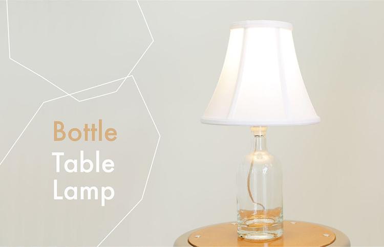 Thế Giới Đèn Gỗ - Hướng dẫn làm đèn trang trí bằng chai thủy tinh 37