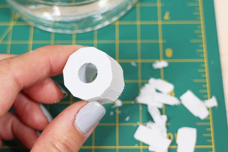 Thế Giới Đèn Gỗ - Hướng dẫn làm đèn trang trí bằng chai thủy tinh 6