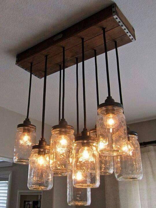 Thế Giới Đèn Gỗ - Cách làm đèn handmade bằng chai thủy tinh 2