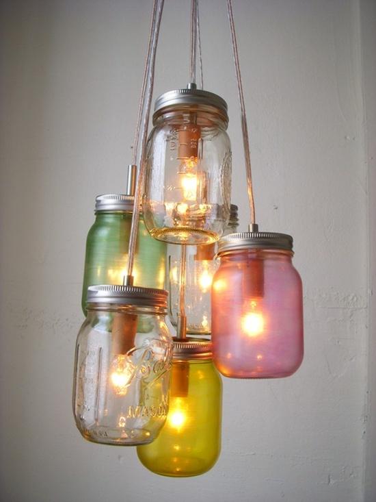 Thế Giới Đèn Gỗ - Cách làm đèn handmade bằng chai thủy tinh 5