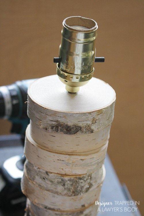 Thế Giới Đèn Gỗ - Hướng dẫn làm đèn gỗ để bàn từ lát gỗ cực đơn giản 11