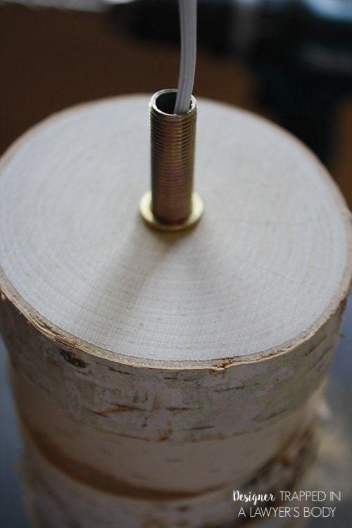 Thế Giới Đèn Gỗ - Hướng dẫn làm đèn gỗ để bàn từ lát gỗ cực đơn giản 7