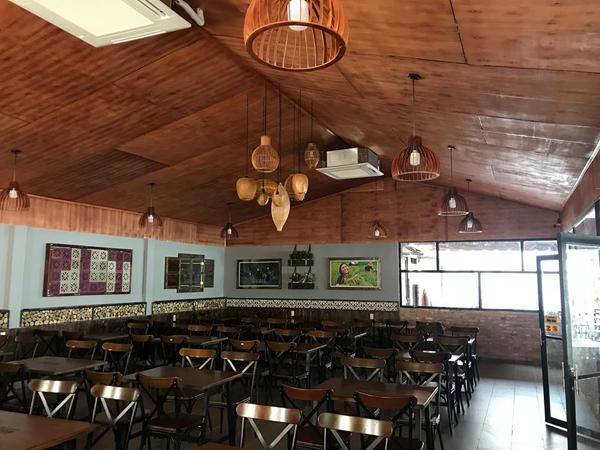 Thế Giới Đèn Gỗ - Đèn gỗ trang trí quán cafe 13