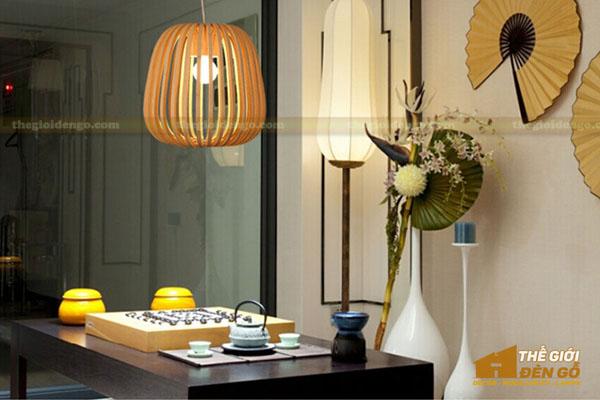 Thế Giới Đèn Gỗ - Đèn gỗ trang trí quán cafe 8
