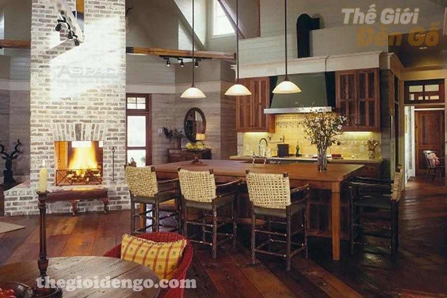 Thế Giới Đèn Gỗ - Thiết kế nội thất gỗ cho căn hộ thêm phần sang trọng 5