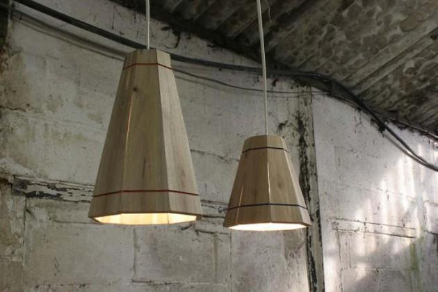 Thế Giới Đèn Gỗ - 8 ý tưởng tự làm đèn chùm bằng gỗ 5