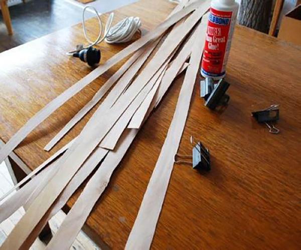 Thế Giới Đèn Gỗ - Cách làm đèn ngủ handmade bằng gỗ veneer 1