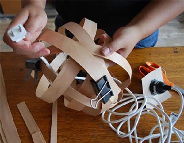 Thế Giới Đèn Gỗ - Cách làm đèn ngủ handmade bằng gỗ veneer 6