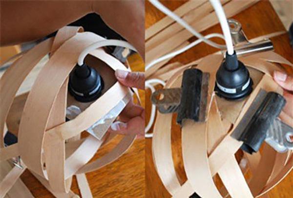 Thế Giới Đèn Gỗ - Cách làm đèn ngủ handmade bằng gỗ veneer 7