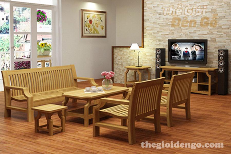 Thế Giới Đèn Gỗ - Những lợi ích khi sử dụng nội thất gỗ 2
