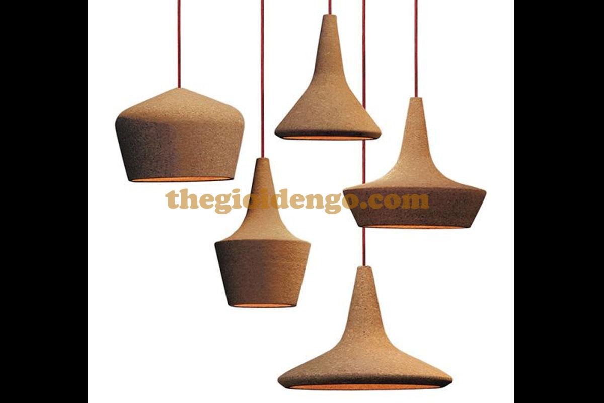 Thế Giới Đèn Gỗ - Đèn gỗ trang trí tiện nguyên khối 4