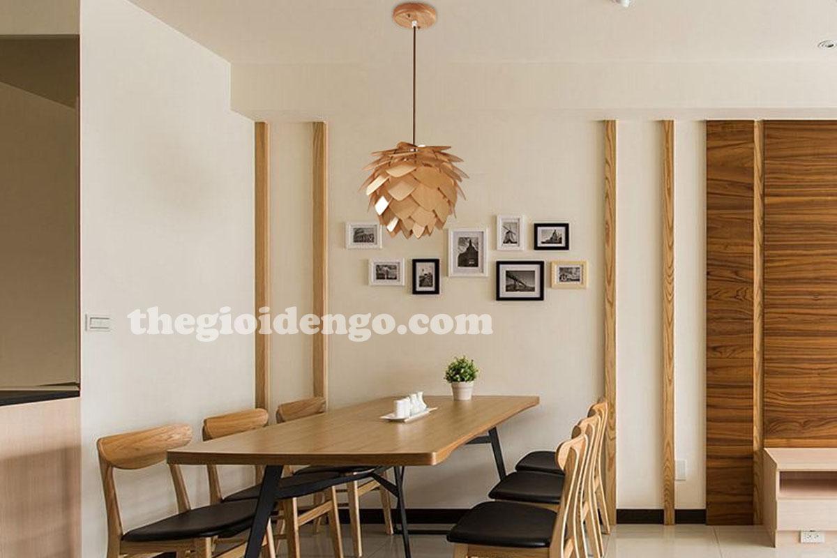 Thế Giới Đèn Gỗ - Đèn trang trí gỗ thả trần 2
