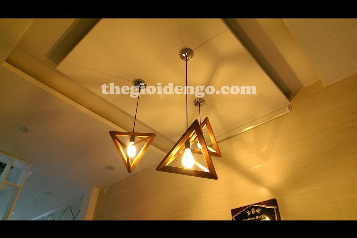 Thế Giới Đèn Gỗ - Đèn trang trí gỗ thả trần