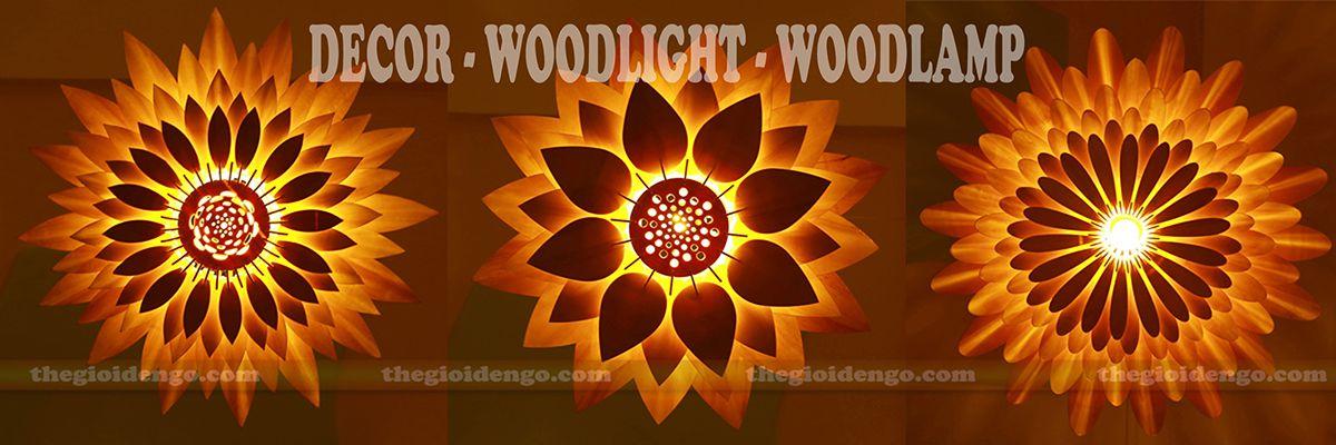 Thế Giới Đèn Gỗ - Đèn trang trí gỗ