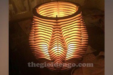 Thế Giới Đèn Gỗ - Đèn gỗ trang trí dg207