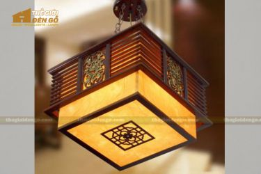 Thế giới đèn gỗ - Hộp đèn gỗ DG101