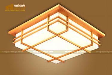 Thế giới đèn gỗ - Hộp đèn gỗ DG105