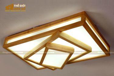 Thế giới đèn gỗ - Hộp đèn gỗ DG110