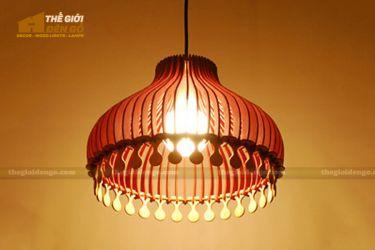 Thế Giới Đèn Gỗ - Đèn gỗ trang trí dg203
