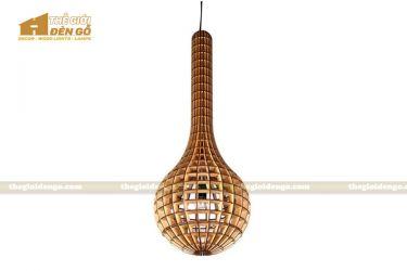 Thế Giới Đèn Gỗ - Đèn gỗ trang trí dg204