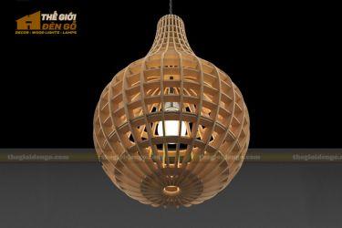 Thế Giới Đèn Gỗ - Đèn gỗ trang trí dg205