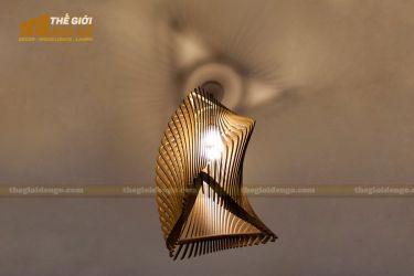 Thế Giới Đèn Gỗ - Đèn gỗ trang trí dg206