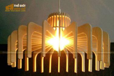 Thế Giới Đèn Gỗ - Đèn gỗ trang trí dg209