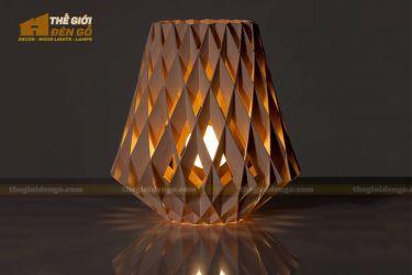 Thế Giới Đèn Gỗ - Đèn gỗ trang trí dg212