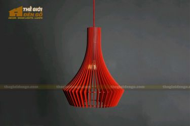 Thế Giới Đèn Gỗ - Đèn gỗ trang trí dg214