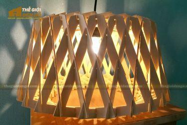 Thế Giới Đèn Gỗ - Đèn gỗ trang trí dg215-1