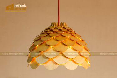 Thế Giới Đèn Gỗ - Đèn gỗ trang trí dg220