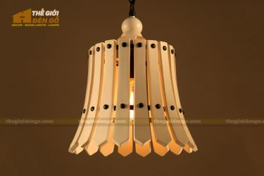 Thế Giới Đèn Gỗ - Đèn gỗ trang trí dg221