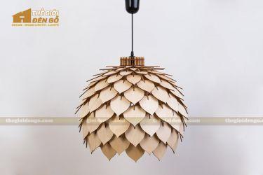 Thế Giới Đèn Gỗ - Đèn gỗ trang trí dg224