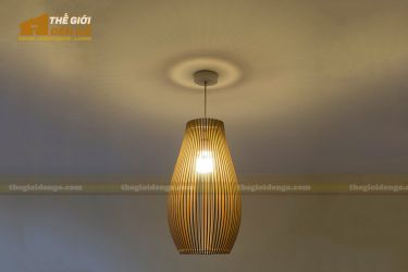 Thế Giới Đèn Gỗ - Đèn gỗ trang trí dg225