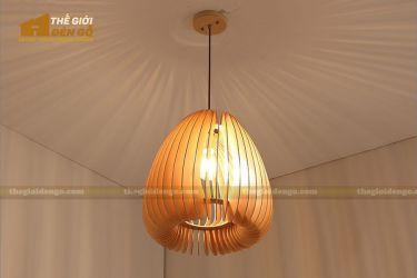 Thế Giới Đèn Gỗ - Đèn gỗ trang trí dg229