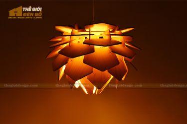 Thế Giới Đèn Gỗ - Đèn gỗ trang trí dg233