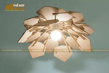 Thế Giới Đèn Gỗ - Đèn gỗ trang trí dg236