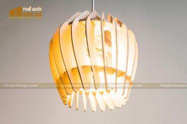 Thế Giới Đèn Gỗ - Đèn gỗ trang trí dg237