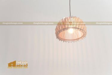 Thế Giới Đèn Gỗ - Đèn gỗ trang trí dg239