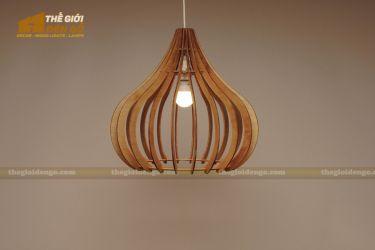 Thế Giới Đèn Gỗ - Đèn gỗ trang trí dg242-1