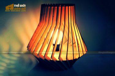 Thế Giới Đèn Gỗ - Đèn gỗ trang trí dg244