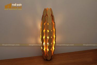 Thế Giới Đèn Gỗ - Đèn gỗ trang trí dg245