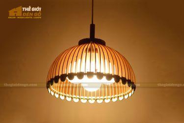Thế Giới Đèn Gỗ - Đèn gỗ trang trí dg250