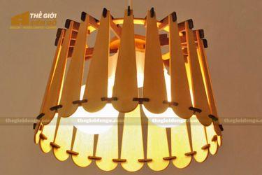 Thế Giới Đèn Gỗ - Đèn gỗ trang trí dg251