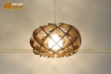 Thế Giới Đèn Gỗ - Đèn gỗ trang trí dg254