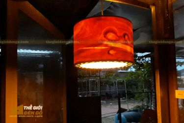 Thế Giới Đèn Gỗ - Đèn gỗ trang trí dg258