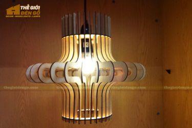 Thế Giới Đèn Gỗ - Đèn gỗ trang trí dg264